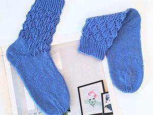Шерстяные носки на заказ. Ярмарка Мастеров - ручная работа, handmade.
