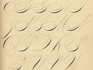 Волшебный Спенсериан — искусство каллиграфии на службе деловой переписки. Ярмарка Мастеров - ручная работа, handmade.