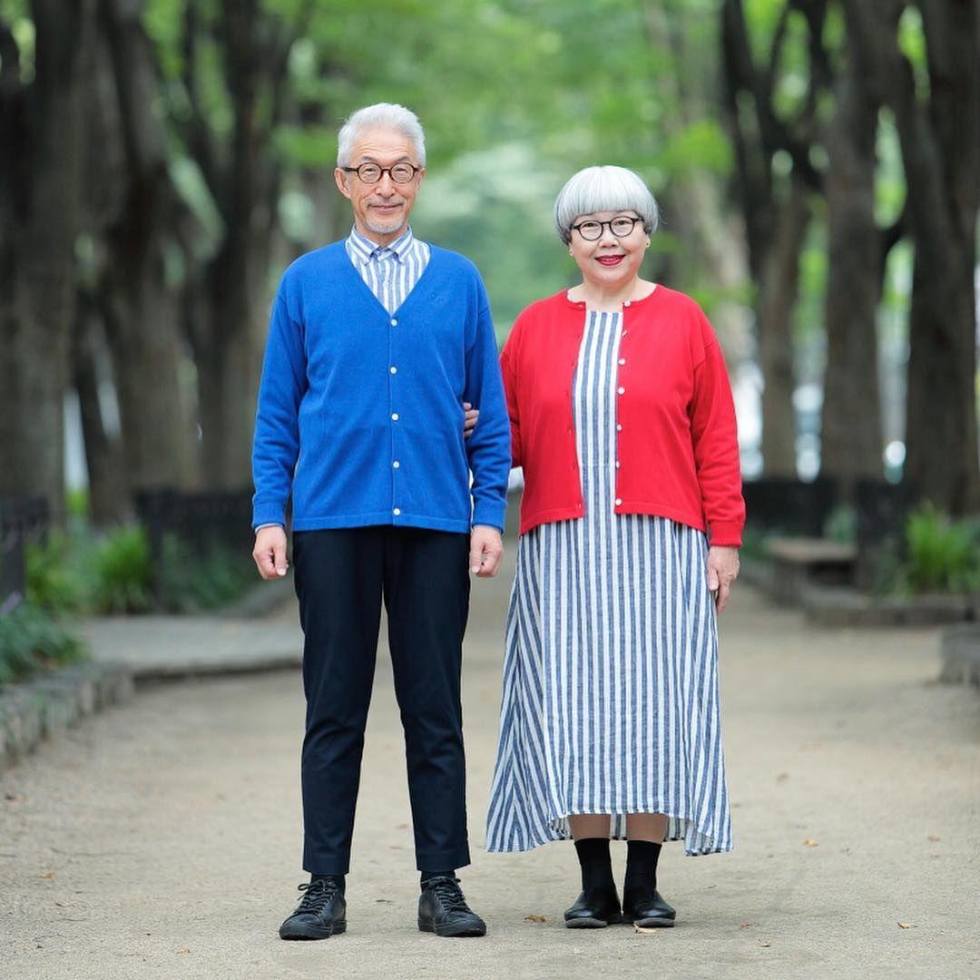 Абсолютная гармония: как 70-летние супруги сочетают свою одежду, создавая единый образ