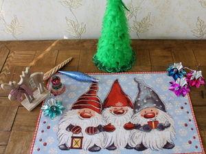 Много-много новогодних салфеток!!!. Ярмарка Мастеров - ручная работа, handmade.