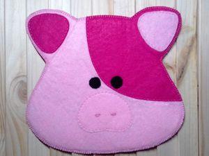 Шьем прихватку свинку. Ярмарка Мастеров - ручная работа, handmade.
