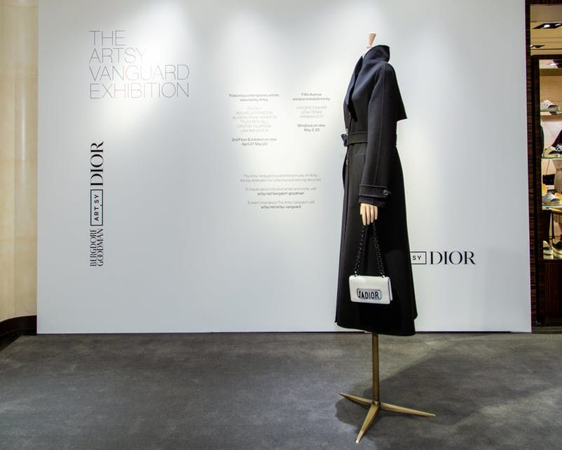 dior, выставка 2018