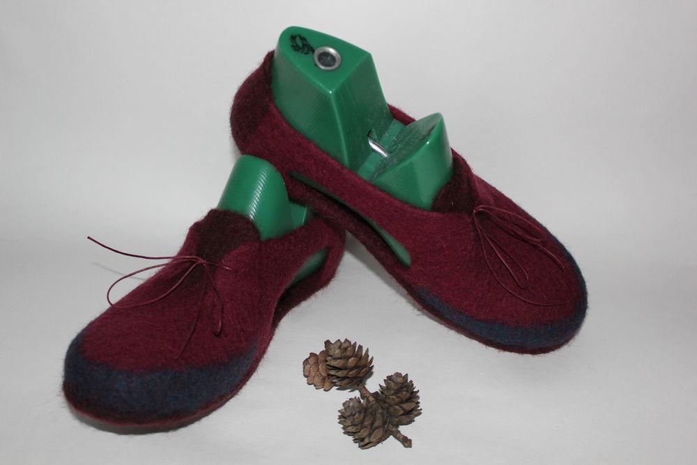 войлочная домашняя обувь