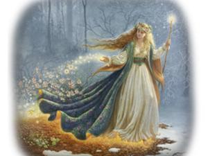 Жива- древнеславянская богиня. Ярмарка Мастеров - ручная работа, handmade.