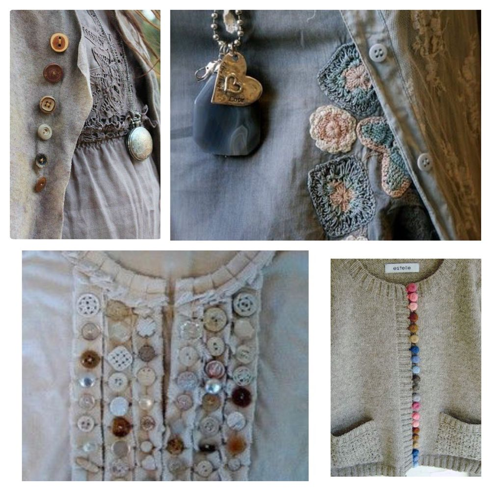 Детали решают все, или Превращаем обычную одежду в арт-объект, фото № 15