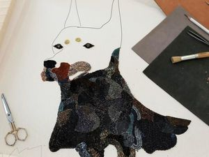 Современное вышивальное искусство от Chengyen Lее. Ярмарка Мастеров - ручная работа, handmade.