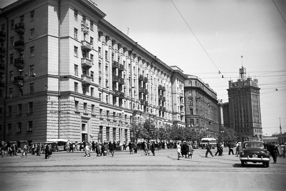 Lessing16 Москва 1958 года в фотографиях Эриха Лессинга