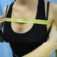 Как правильно снять мерку Ширина груди первая