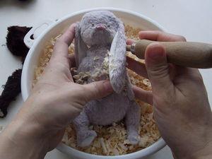 Видео мастер-класс: шьем мишку Тедди в винтажном стиле. Урок 3: набивка | Ярмарка Мастеров - ручная работа, handmade