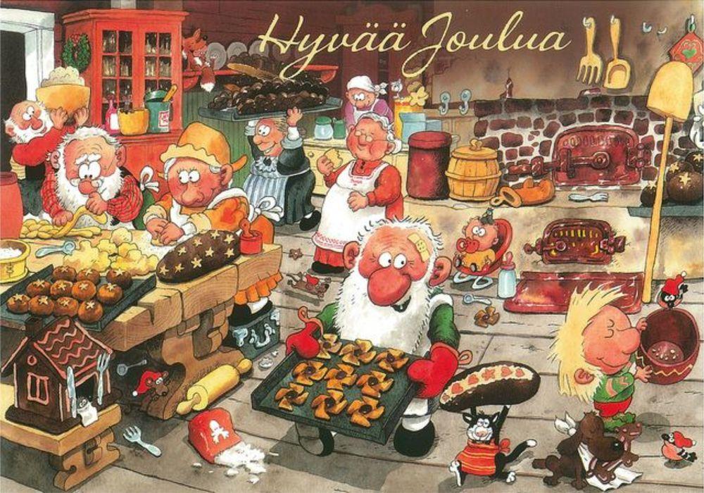 Открытки с рождеством на финском языке, марта