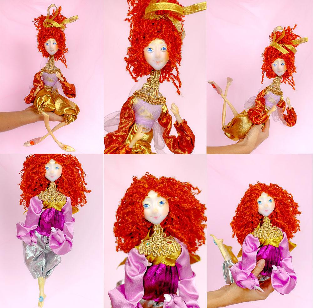 подвижная кукла, подарок на день рождения