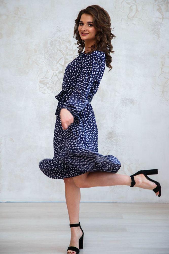 весенние платье
