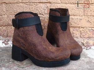 Тестирование тонкого обувного войлока металлическим молотком. Ярмарка Мастеров - ручная работа, handmade.
