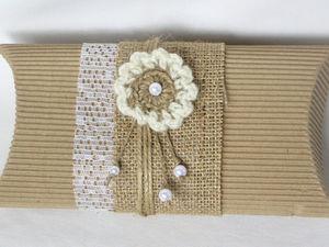 Делаем цветок для упаковки мини-подарка. Вариант 3: миниатюрная работа. Ярмарка Мастеров - ручная работа, handmade.