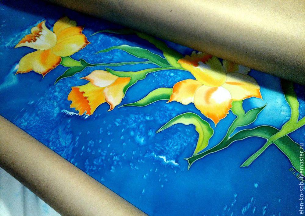 painted batik