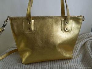 Аукцион на кожаную сумку. Старт 1500р. Ярмарка Мастеров - ручная работа, handmade.