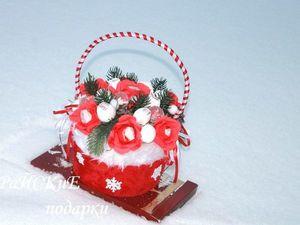 Мастерим сумочку из новогоднего колпака. Ярмарка Мастеров - ручная работа, handmade.