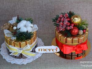 Новогодние тортики!. Ярмарка Мастеров - ручная работа, handmade.