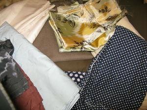 Отдам даром отрезы ткани, шерсть для вязания, спицы, куклу. Москва, метро Киевская | Ярмарка Мастеров - ручная работа, handmade
