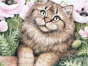 Кое -что о котиках в день кошки. Короткие заметки. | Ярмарка Мастеров - ручная работа, handmade