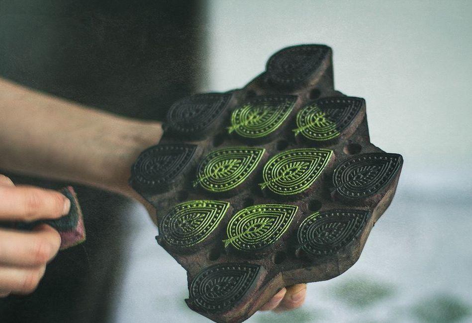 мк набойка, декорирование ткани