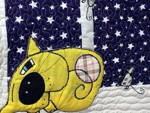 Аукцион на панно с волшебным желтым котом. Ярмарка Мастеров - ручная работа, handmade.