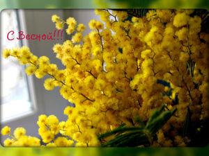 С наступающим праздником ВЕСНЫ!!! | Ярмарка Мастеров - ручная работа, handmade