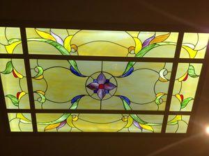 Мастер-класс: витражный потолок в технике тиффани. Ярмарка Мастеров - ручная работа, handmade.