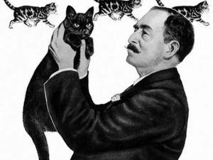 Любимые кошки в картинах Louis William Wain. Ярмарка Мастеров - ручная работа, handmade.