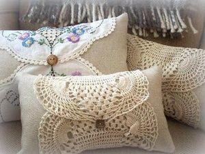 Винтажный текстиль в интерьере. Ярмарка Мастеров - ручная работа, handmade.