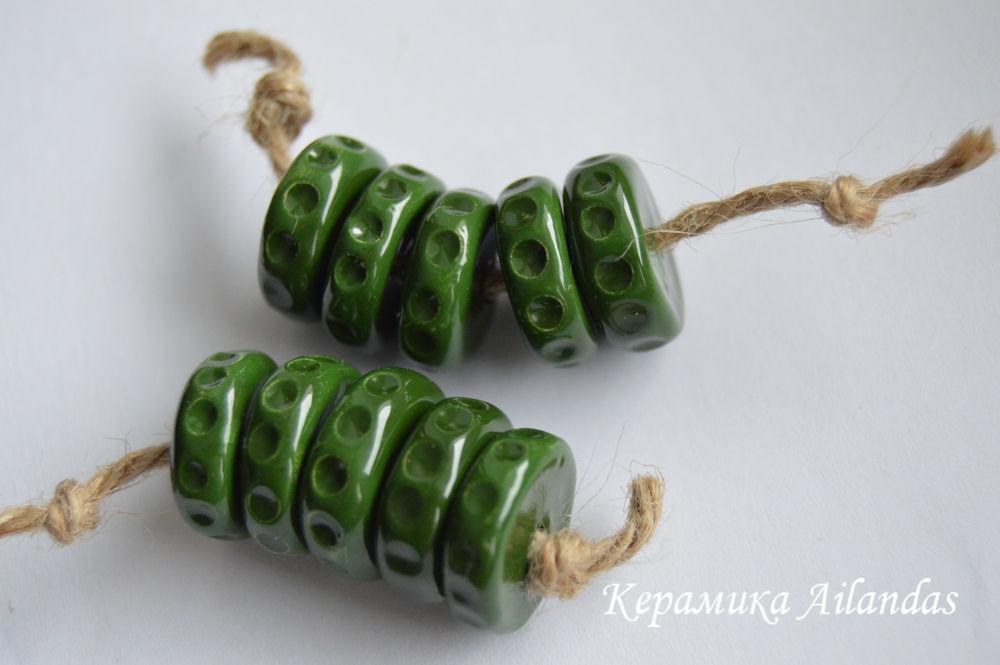 глиняные бусины