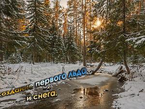Созданем зимнего пейзажа «Первый лед».Часть №1. Ярмарка Мастеров - ручная работа, handmade.