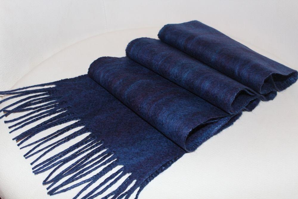 валяние шарфа