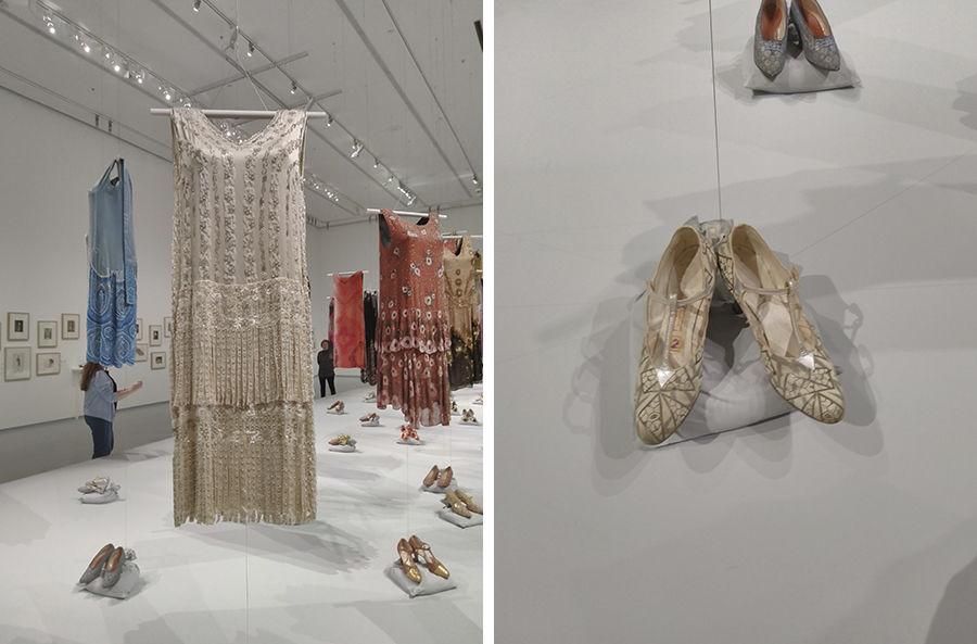 Les annеes folles: в Москве проходит выставка костюмов и обуви 20-х годов