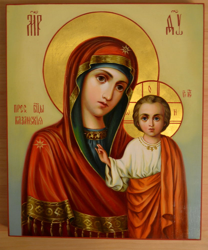 икона, икона в дом, икона богородицы, акция магазина, богородица казанская, живописная икона