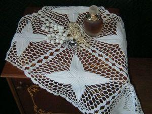 Как стирать вязаные скатерти, салфетки, дорожки и др.. Ярмарка Мастеров - ручная работа, handmade.