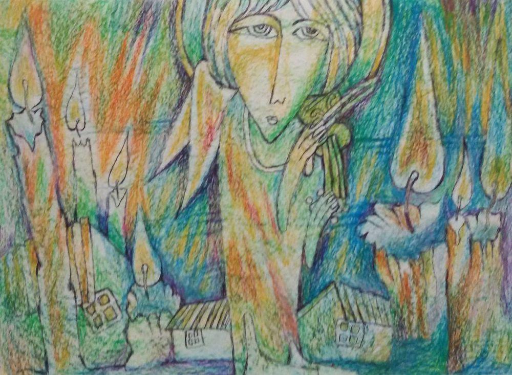 мир, путь, путь художника, друзья, молитва, экзюпери, радость, радость творчества, разговор с богом, чудеса