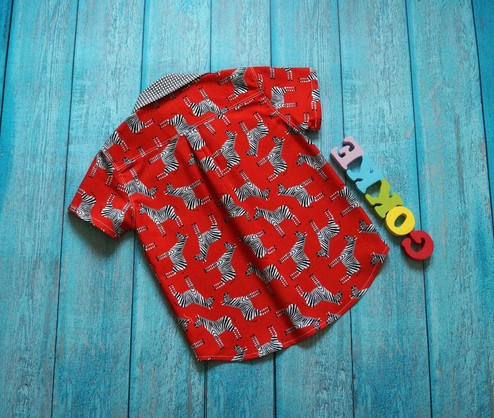 рубашка для мальчика, распродажа, зебровый принт
