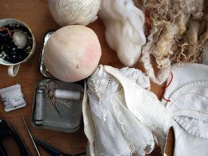 Косы из шерсти: причёска для куклы. Ярмарка Мастеров - ручная работа, handmade.