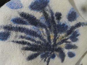 Болеро с синим цветком, или дебют в батике. Ярмарка Мастеров - ручная работа, handmade.