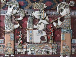 Душевное творчество армянского художника-керамиста Цолака Шагиняна | Ярмарка Мастеров - ручная работа, handmade