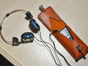 Двухигольное шитье капроновым шнуром, или Как сделать чехол для мобильного телефона. Ярмарка Мастеров - ручная работа, handmade.