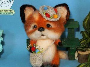 Мультфильм Лисенок и аленький цветочек.. Ярмарка Мастеров - ручная работа, handmade.