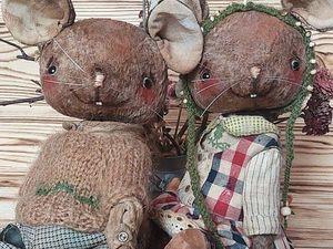 Снижение Цен на мышат и Ежиков. Ярмарка Мастеров - ручная работа, handmade.
