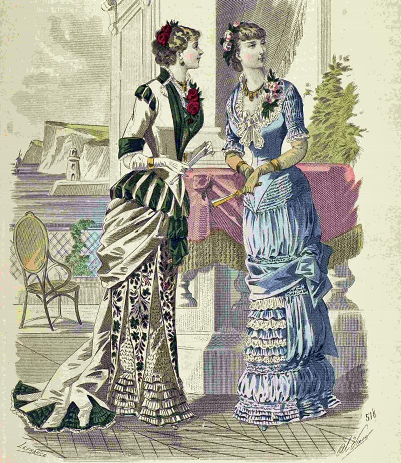 Восхитительная мода конца ХIХ века, фото № 7