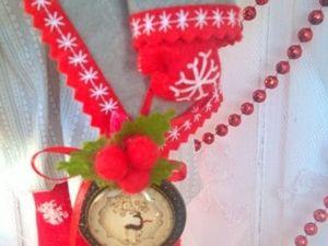 Делаем милого новогоднего гнома на длинных ножках. Ярмарка Мастеров - ручная работа, handmade.