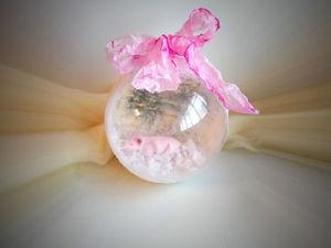 Новогодний шар с фигуркой внутри. Мастер-класс. Ярмарка Мастеров - ручная работа, handmade.