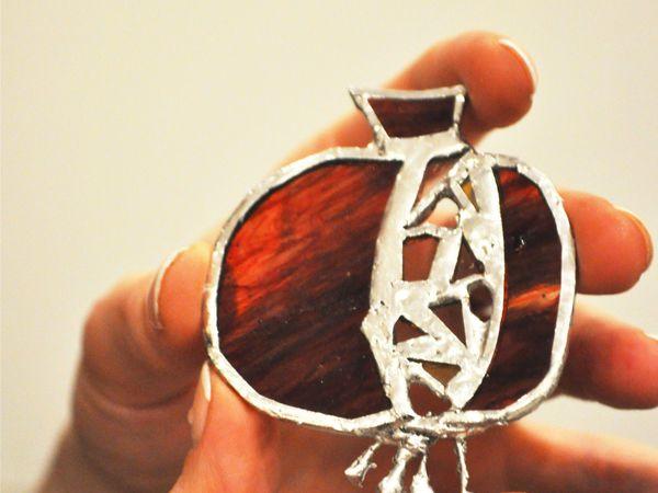 Мастер-класс. Витражная техника Тиффани | Ярмарка Мастеров - ручная работа, handmade
