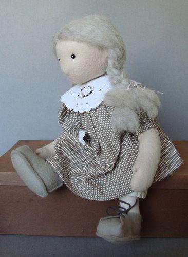 мастер-класс, текстильная кукла