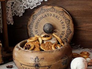 Новинка! Большая точеная шкатулка для сладостей. Ярмарка Мастеров - ручная работа, handmade.